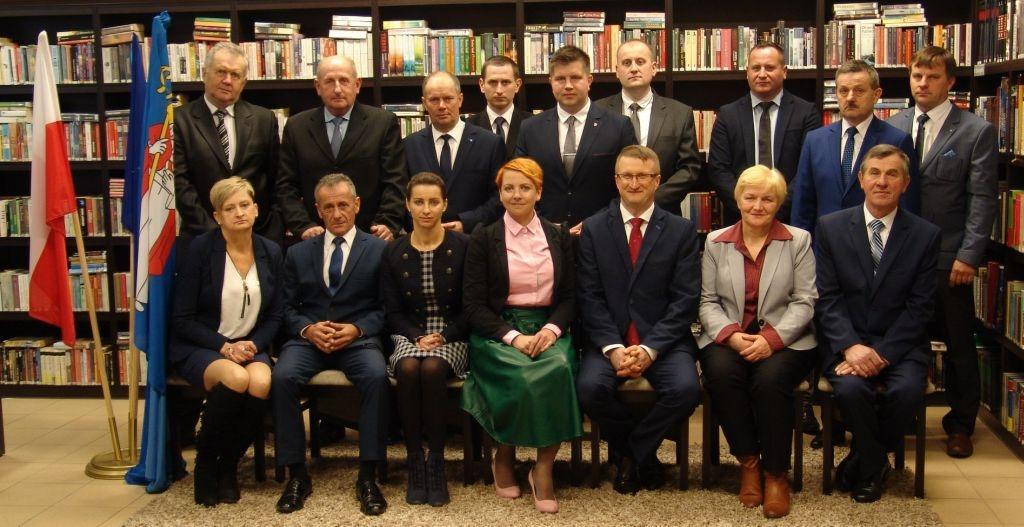 I sesja VIII kadencji Rady Gminy Zakrzówek w dniu 21 listopada 2018 r.