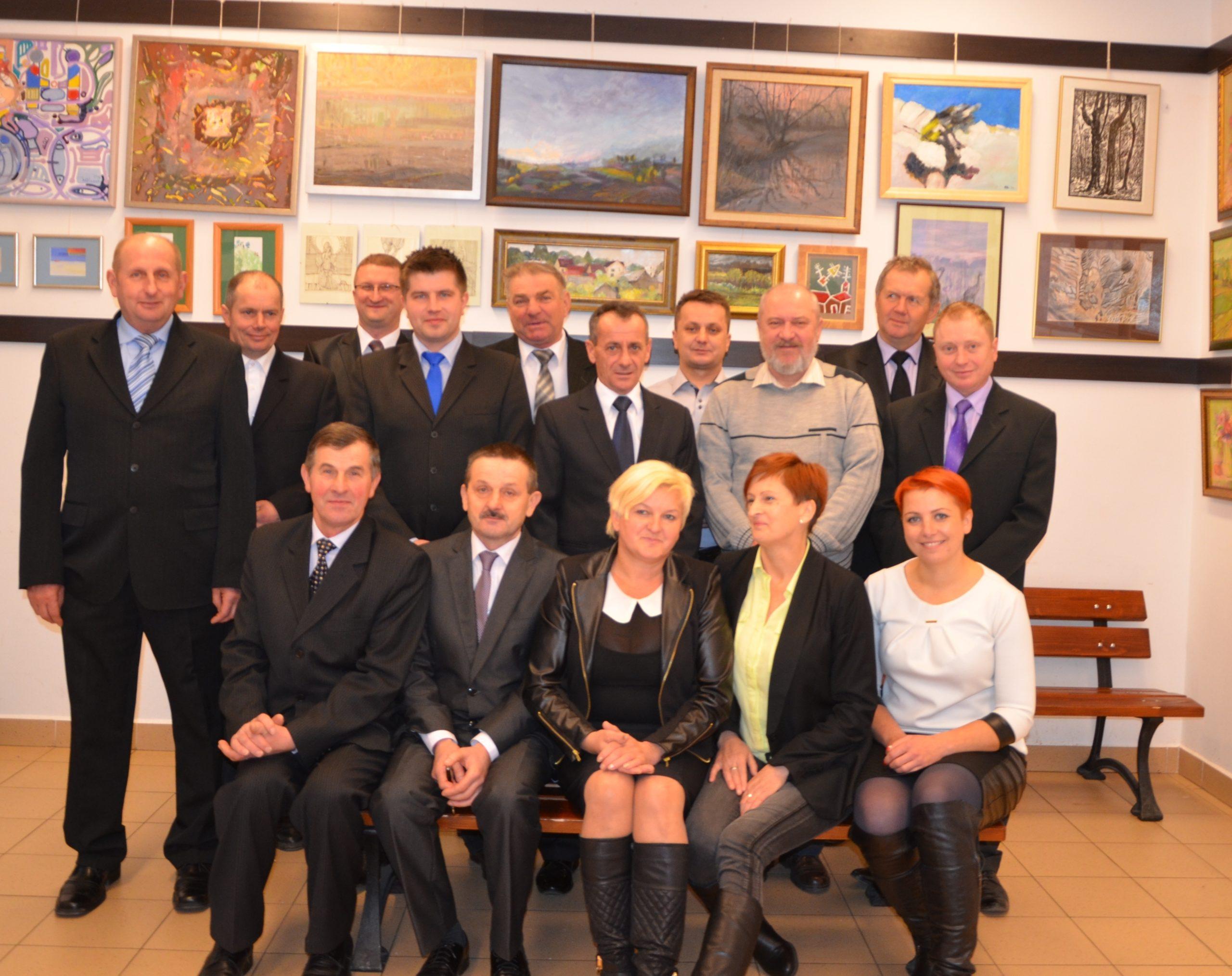 I sesja VIII kadencji Rady Gminy Zakrzówek