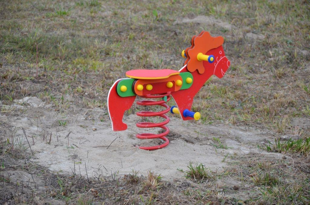 Budowa placu zabaw w miejscowości Rudki