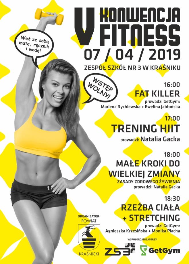 Zaproszenie na V konwencję fitness!