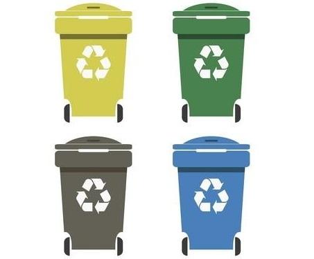 Aktualne stawki opłat za odbiór odpadów.