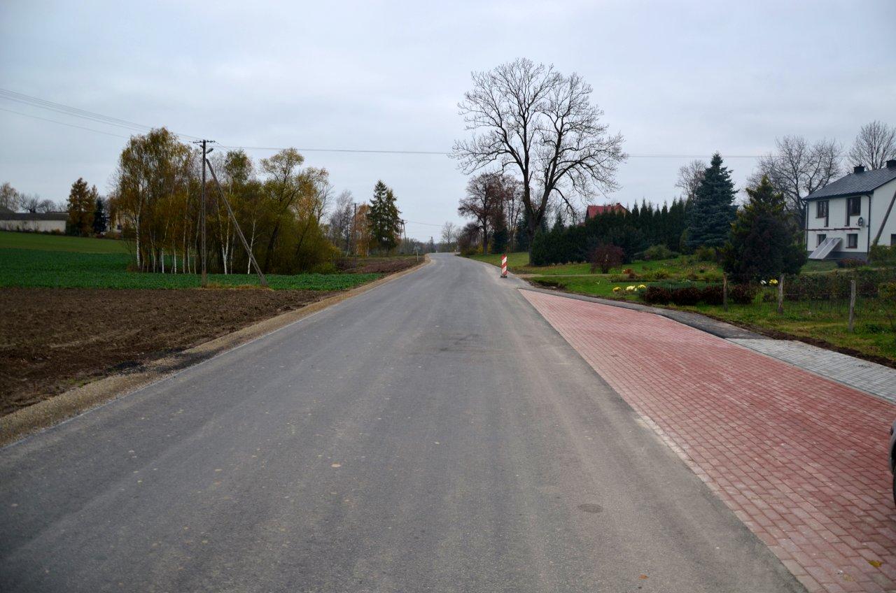 Relacja fotograficzna z trwającej inwestycji na drodze powiatowej Majdan Grabina- Studzianki- Studzianki Kolonia