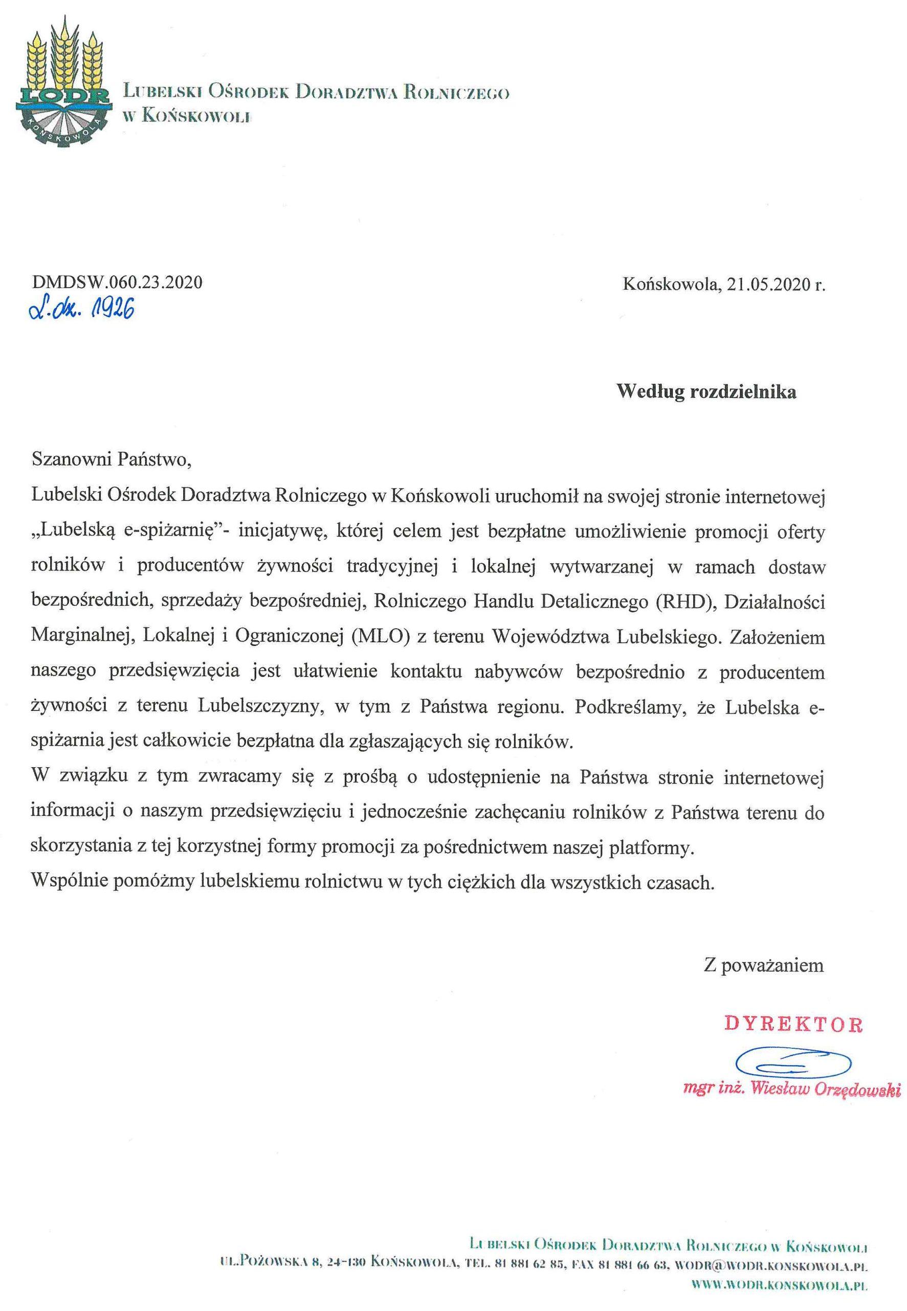 """""""Lubelska e-spiżarnia"""""""