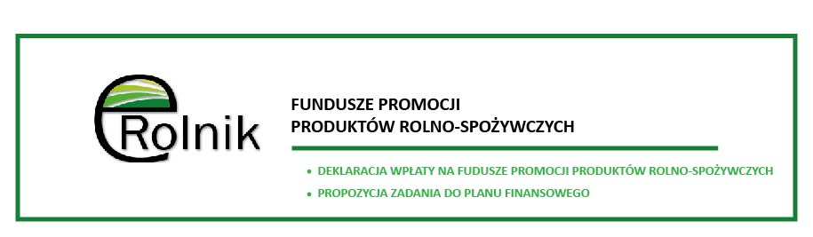 Informacja Krajowego Ośrodka Wsparcia Rolnictwa dot. Funduszu Promocji Produktów Rolno-Spożywczych