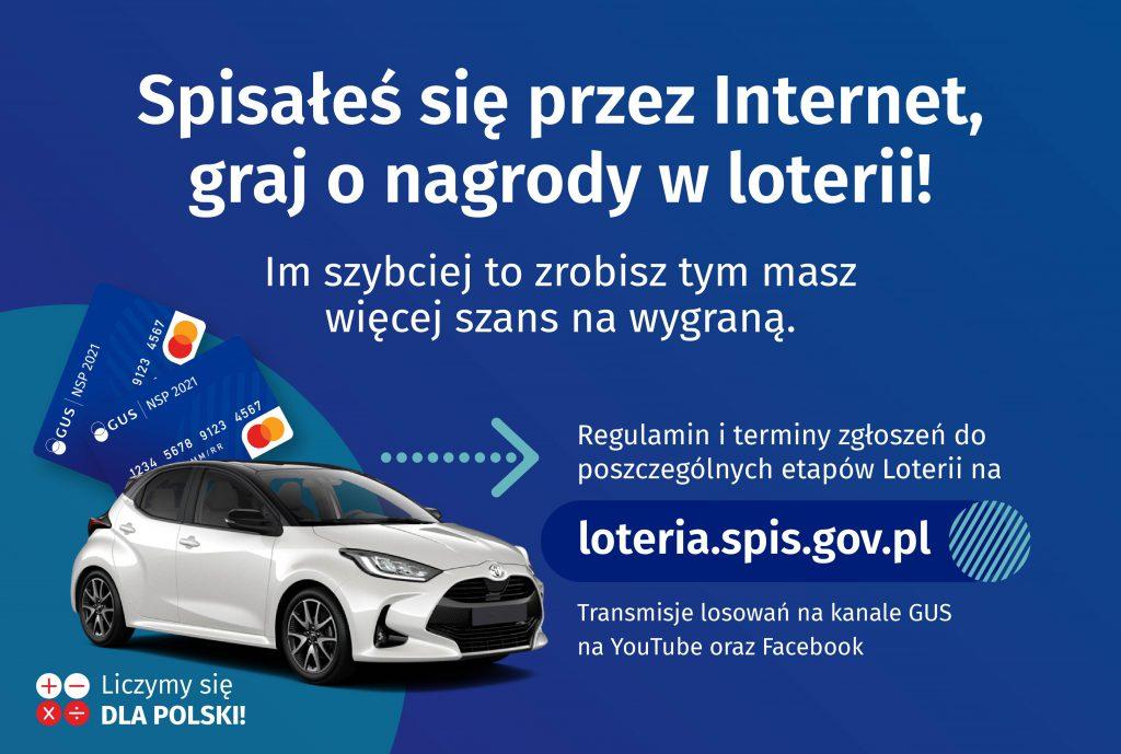 Spisałeś się przez Internet? Sprawdź jak zgłosić udział w loterii.