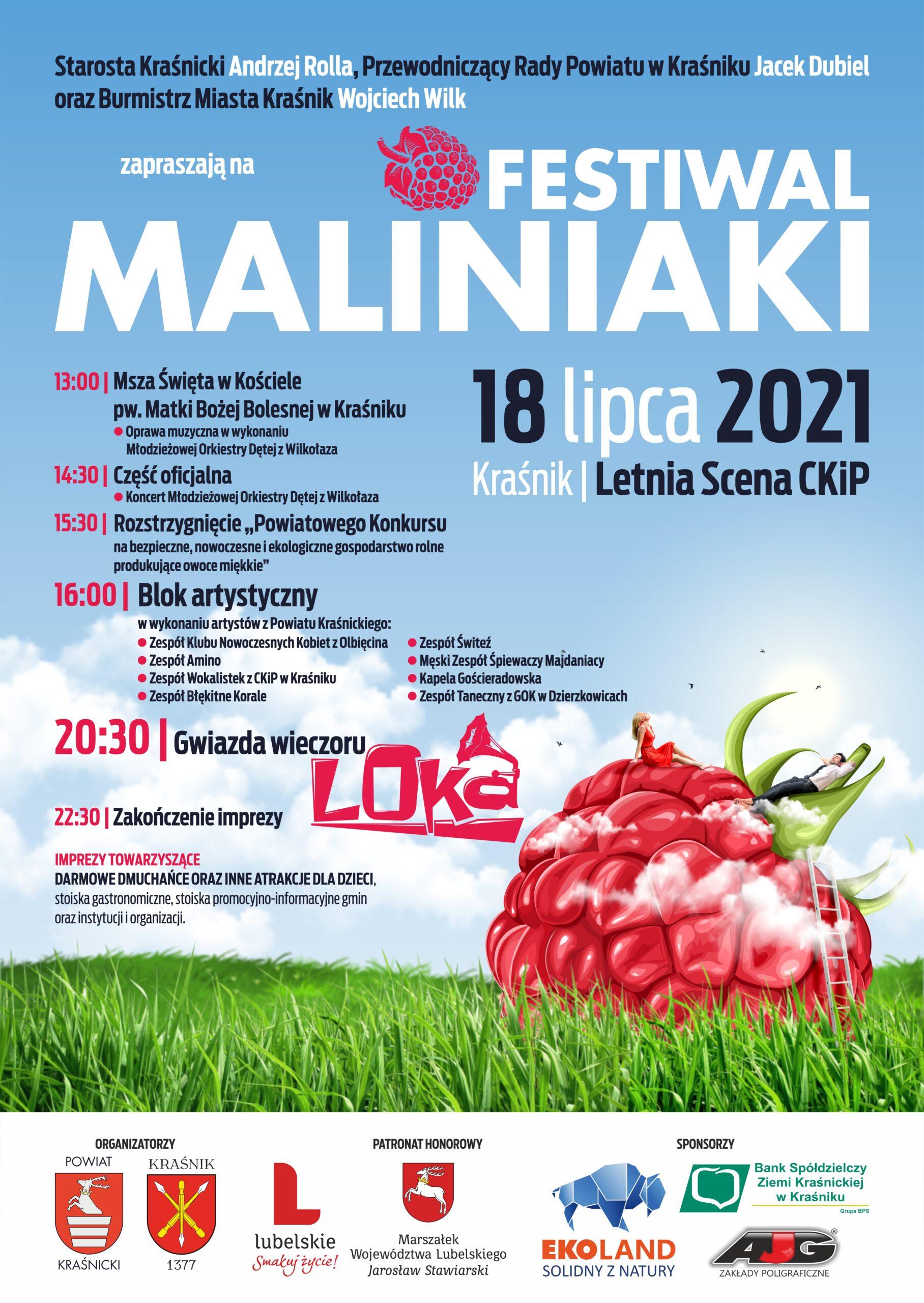 Festiwal Maliniaki 2021